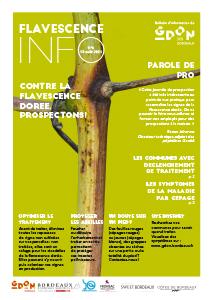 Flavescence Info n°6 – 2021