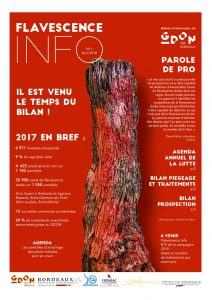 Flavescence Info n°1 – 2018