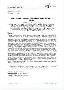 Etude de chercheurs pour la Commission Européenne